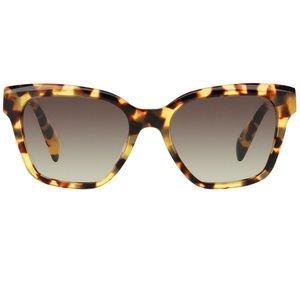 Prada Accessories - Prada Sunglasses Blonde Havana w/Grey Lens